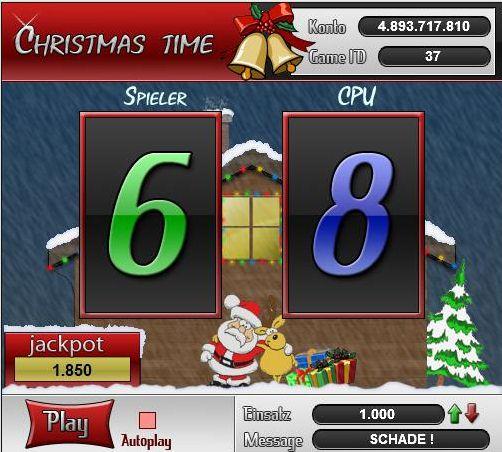 Christmas Time 50:50