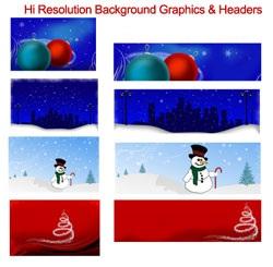 Christmas Header Pack