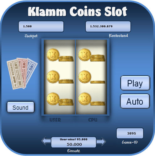 Coins Slot