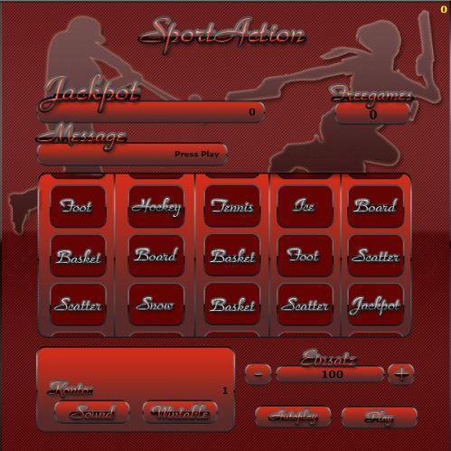 SportAction Slot