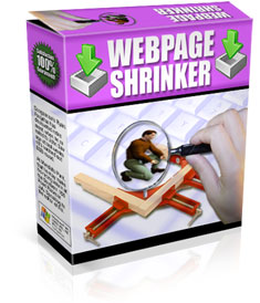 Web Page Shrinker