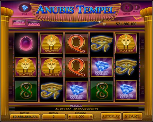 Anubis Tempel - CF