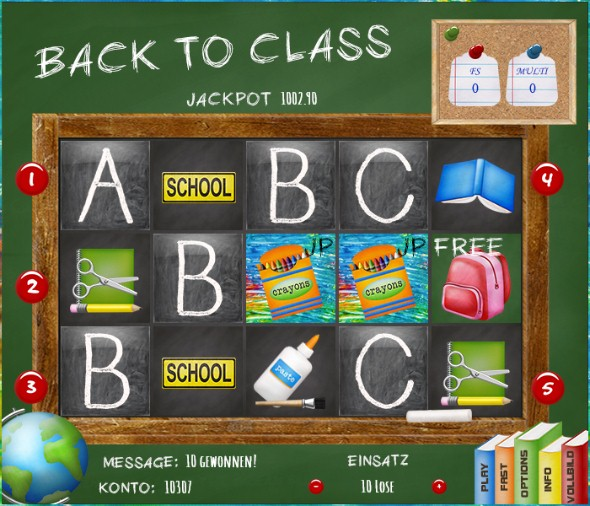 Back to Class - HTML5 Slot