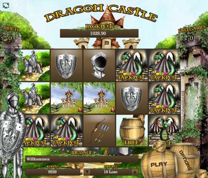 Dragon Castle - HTML5 Slot