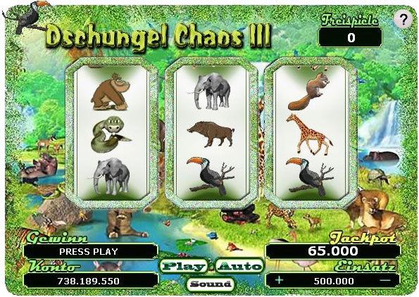 Dschungel Chaos 3