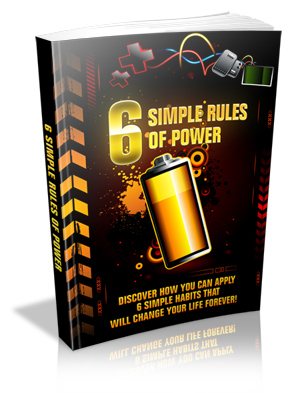 6 Simple Rules Of Power