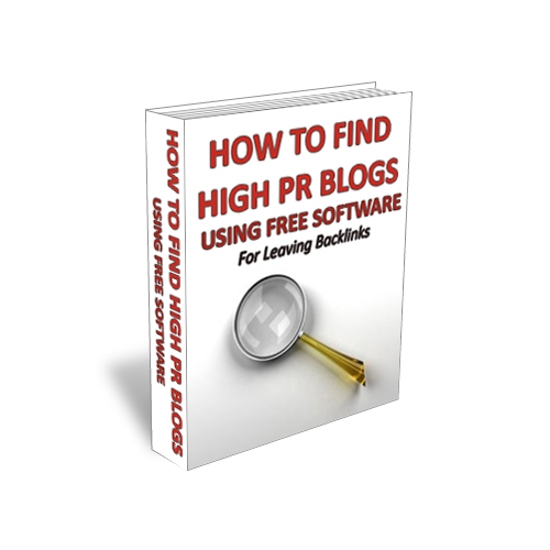 How To Find High PR Blogs