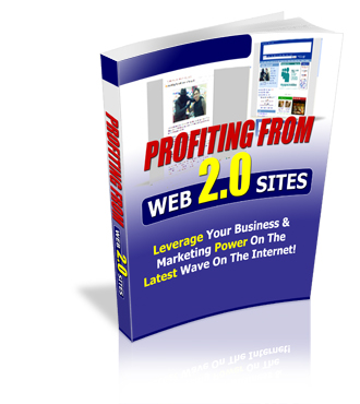 Profiting From Web 2.0 Sites!
