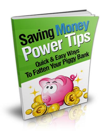 Saving Money Power Tips