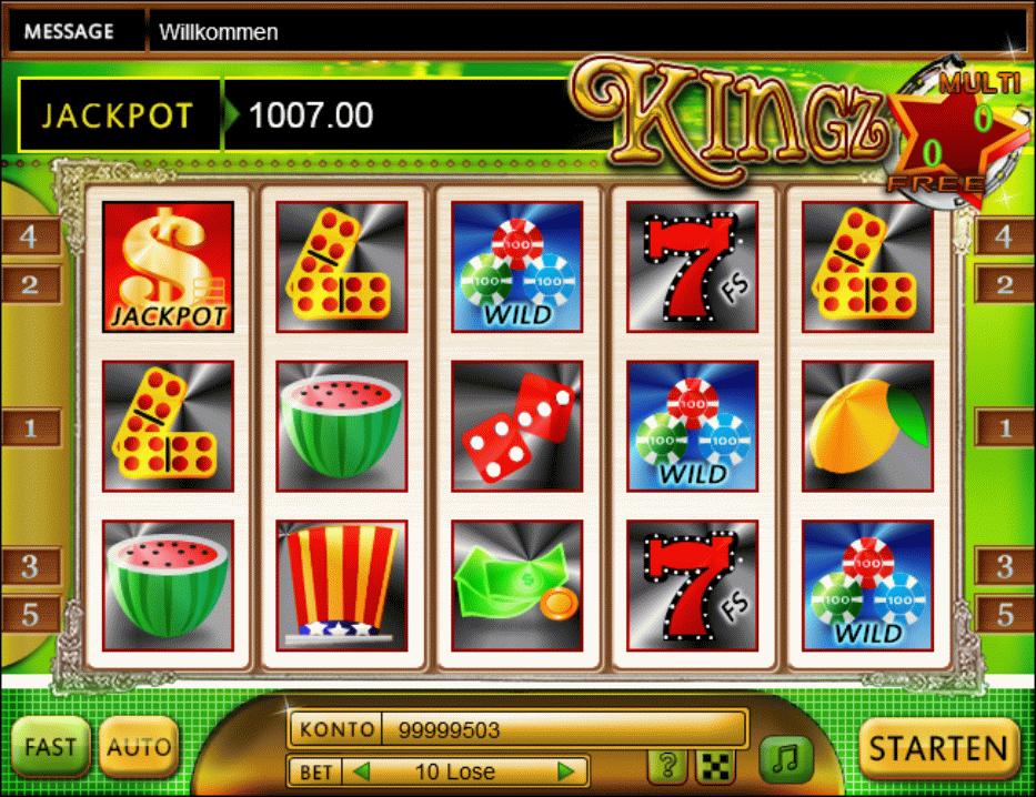 KingZ - HTML5 Slot