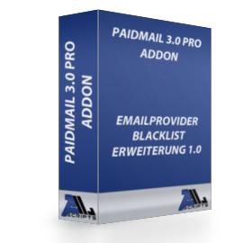 Emailprovider Blacklist - Erw 1.0
