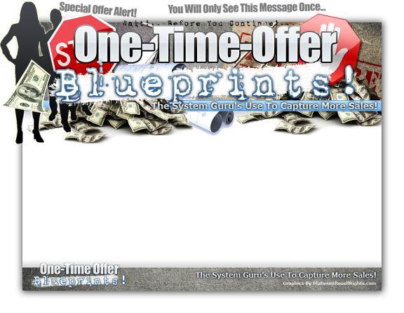 OneTimeOfferBlueprints