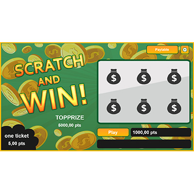 Scratch and win - Scratchcard Game