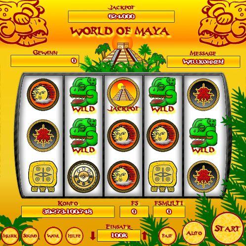 World of Maya - CF